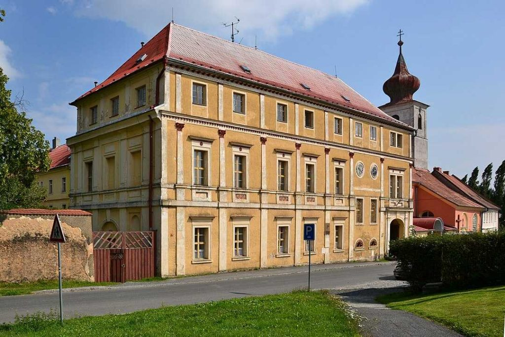 zámek Trhanov